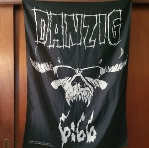 Vintage Danzig tapestry / banner / wall hanging